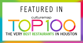 Congratulations! Pizaros Pizza is featured in CultureMap's inaugural Top 100: The very best restaurants in Houston!